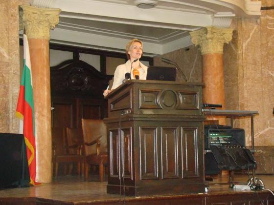 Г-жа Гергана Паси, посланик на новите технологии