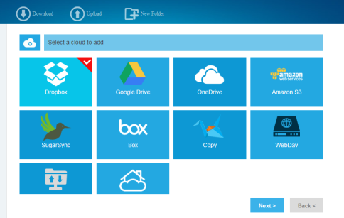 MultCloud - Put multiple cloud drives into one. (1)