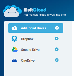 MultCloud - Put multiple cloud drives into one. (3)