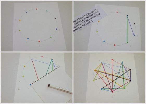 6 Steps to Make Geometric Pi Inspired artwork